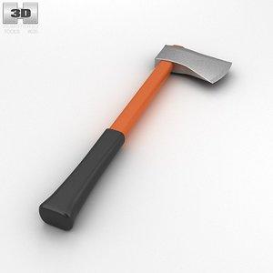 felling axe 3d model