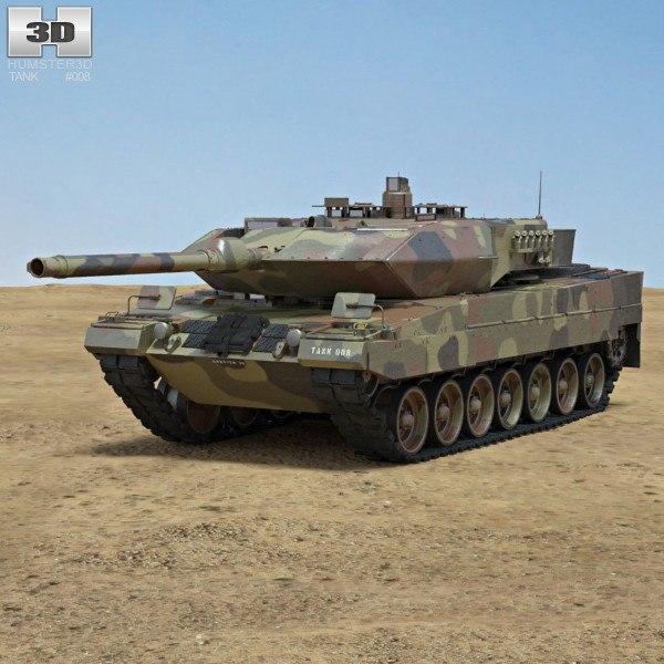 leopard 2a6 c4d