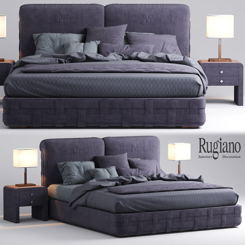 rugiano braid bed max
