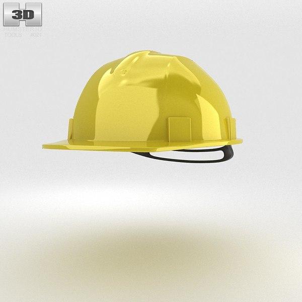safety helmet 3d 3ds