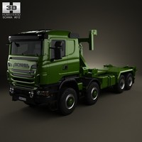 military scania r 3d 3ds