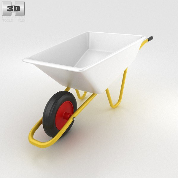 wheelbarrow c4d