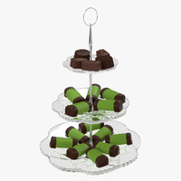 cake dish cookie fbx