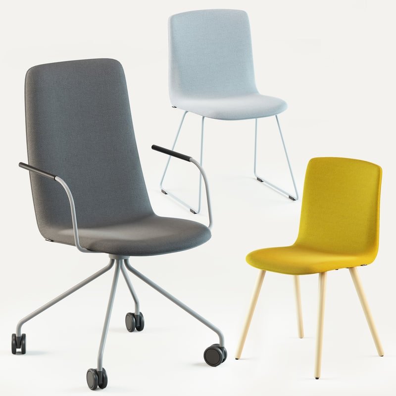 3d model martela sola chair