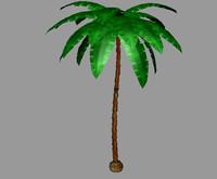 palm tree 3d ma