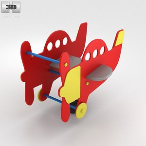 rider airplane spring 3d max
