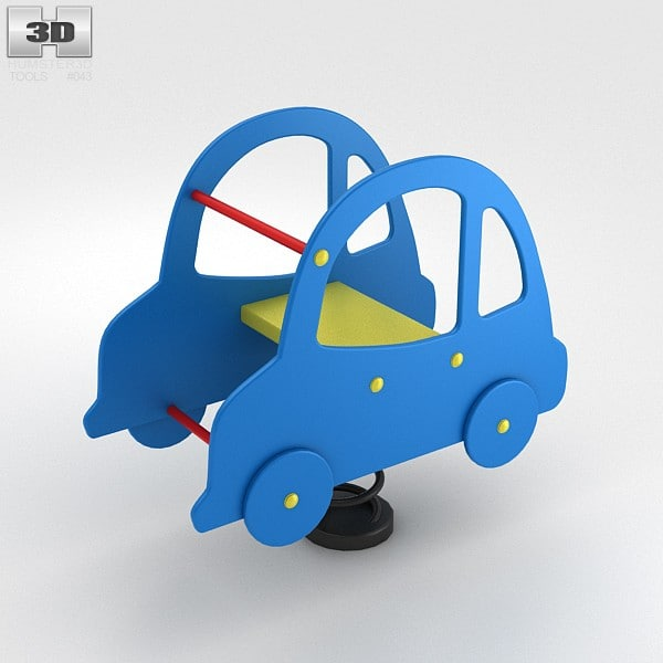 3d 3ds rider spring car
