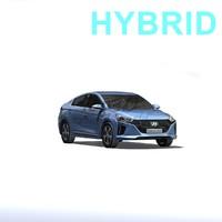 3d model ioniq hybrid