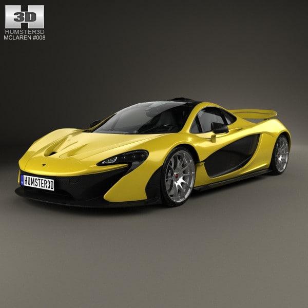 3d 2014 interior mclaren model