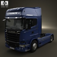 Scania R 730 Tractor Truck 2013