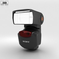 3d external flash sony