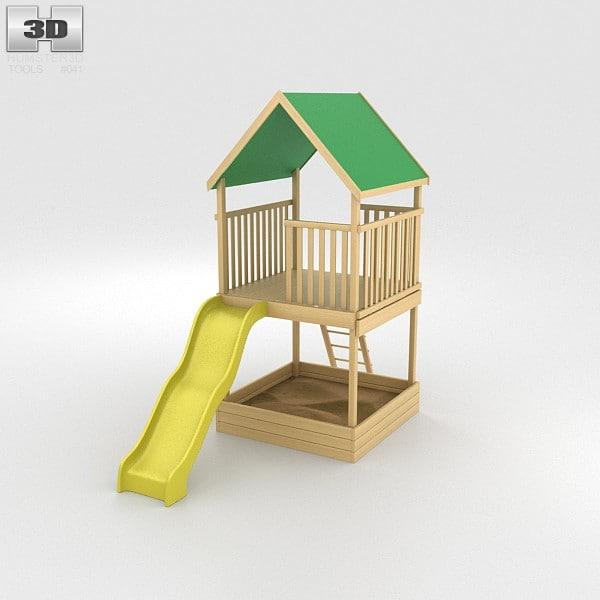 set 3d model