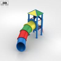 tube slide 3d c4d