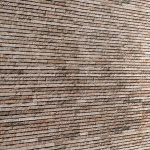 seamless stone wall 3d obj