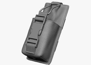 radio pouch 3d model
