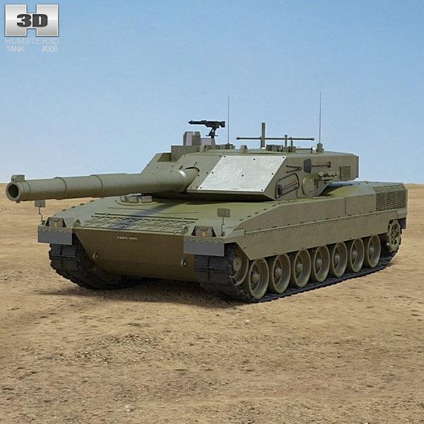 3d model c1 ariete