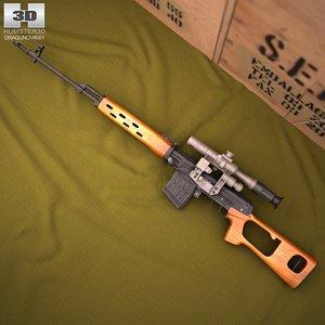 lwo dragunov gun sniper