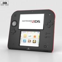 3d model nintendo 2ds