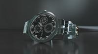 3d watch photorealistic model