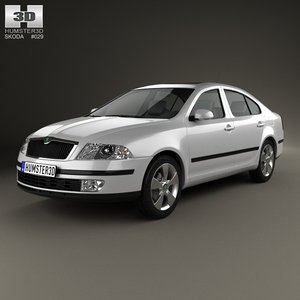 skoda octavia liftback 3ds