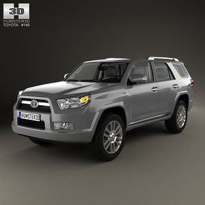 toyota 4runner runner 3d model