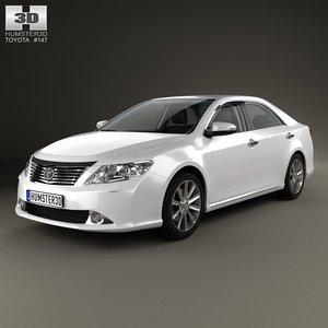 3d 3ds toyota camry hq