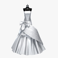 3d max wedding dress