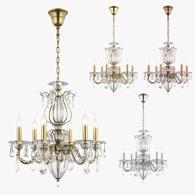 3d max chandelier shon osgona