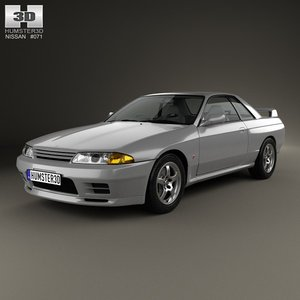 nissan skyline r32 3d 3ds