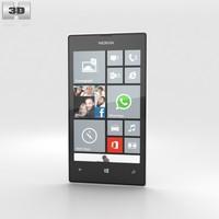 3d nokia lumia 520 model
