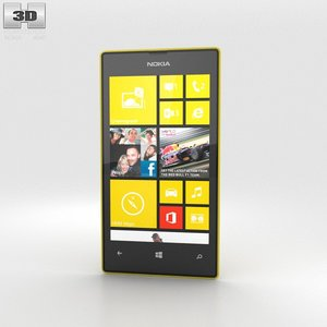 3d 3ds nokia lumia 520