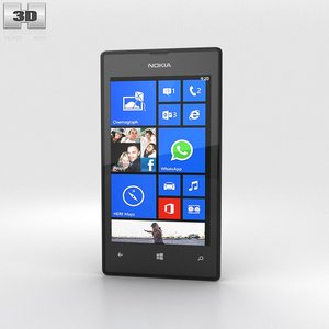 3d model of nokia lumia 525