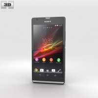 3d sony sp xperia model