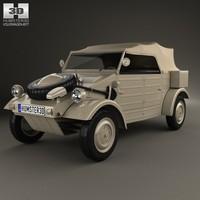volkswagen kubelwagen 1945 3d 3ds