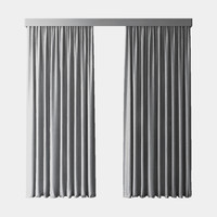 max gray blackout curtains