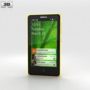 x nokia 3d model