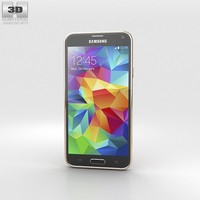 5 samsung galaxy 3d model