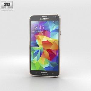 5 samsung galaxy 3d model