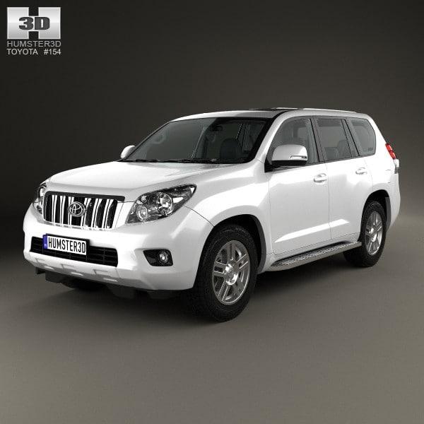5-door interior j150 3d max