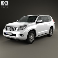 Toyota Land Cruiser Prado (J150) 5-door with HQ interior 2010