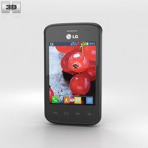 3d lg optimus l1 model