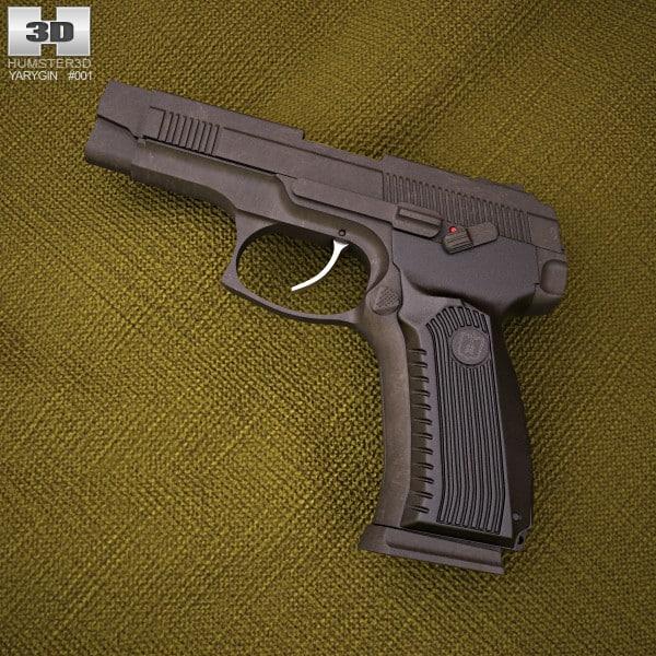 MP-443グレイチ3Dモデル - Turbo...
