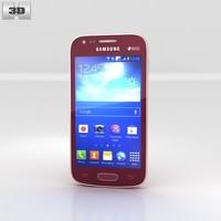samsung galaxy ace 3d model