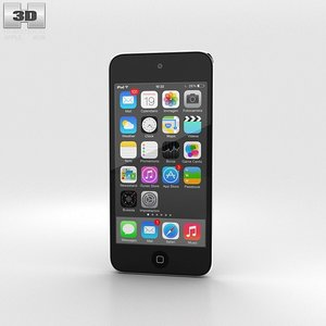 apple ipod touch 3d max