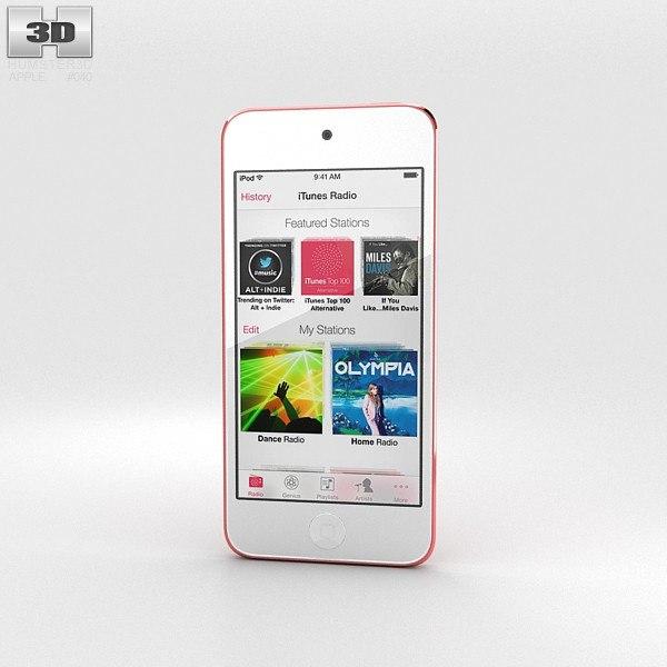 3d model apple ipod touch