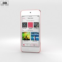 3d model apple ipod touch