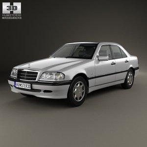 3d model mercedes-benz c-class c