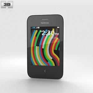 nokia asha 230 3d model