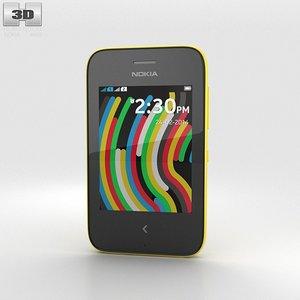 3d model nokia asha 230