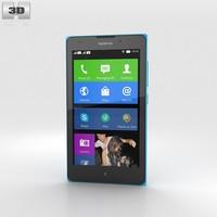 Nokia XL Cyan